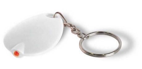 Obesek za ključe - lučka