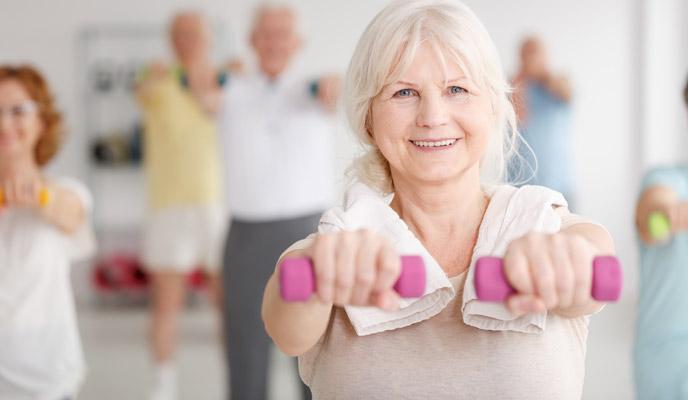 Ohranjanje vitkosti v starosti